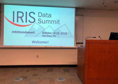 2018 IRIS Data Summit