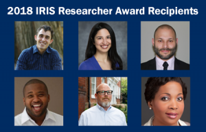 2018 IRIS Researcher Award recipients
