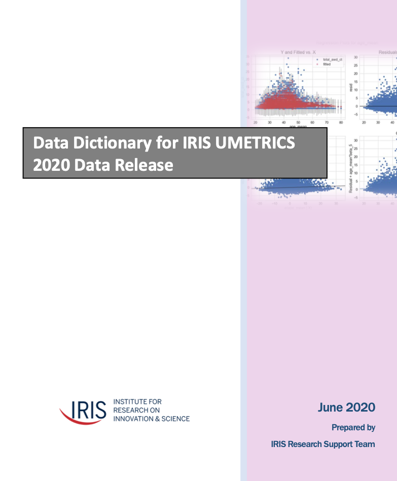 Data Dictionary Cover